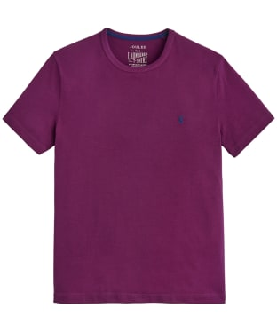 Men's Joules Laundered Tee - Dark Purple