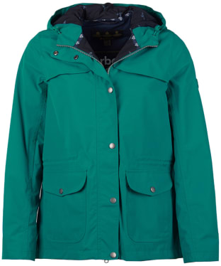 Women's Barbour Lunan Waterproof Jacket - Sea Glass