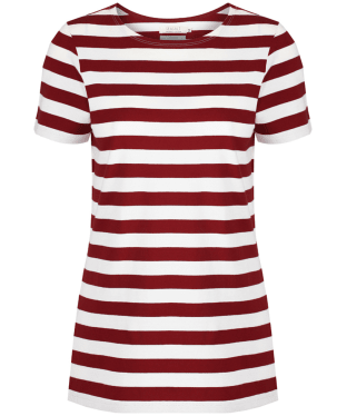 Women's Seasalt Sailor T-Shirt - Cornish Jam Chalk