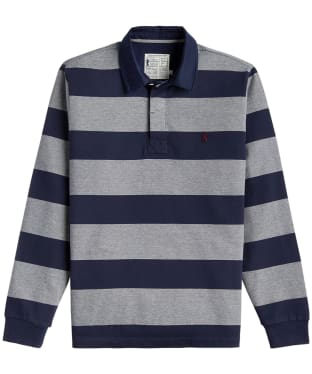 Men's Joules Onside Rugby Shirt - French Navy Stripe