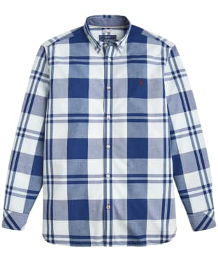 Men's Joules Whittaker Classic Fit Check Shirt - Indigo Overcheck