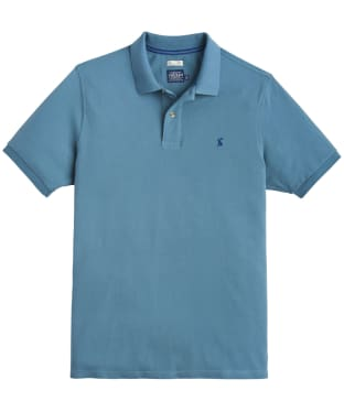 Men's Joules Woody Classic Polo Shirt - Teal Grey
