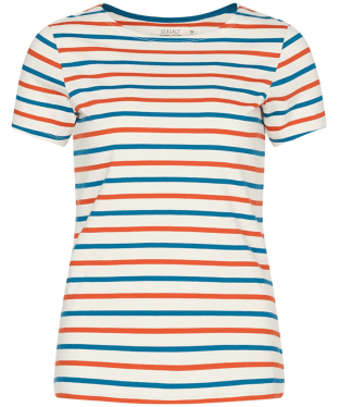Women's Seasalt Sailor T-Shirt - Duet Shore Dark Satsuma