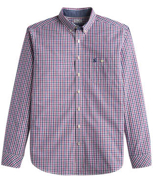 Men's Joules Hewney Classic Fit Check Shirt - Rock Rose Gingham