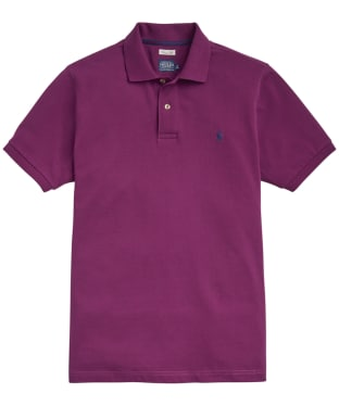 Men's Joules Woody Classic Polo Shirt - Dark Purple