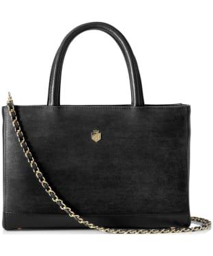 Women's Fairfax & Favor Pembroke Handbag - Black Leather