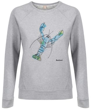 Women's Sandbanks Overlayer Lobster Sweatshirt
