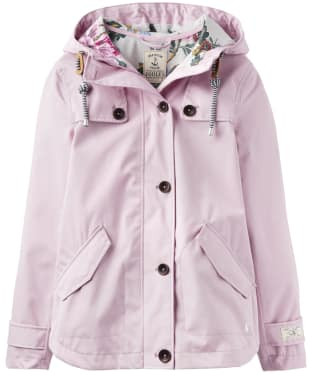 Women's Joules Coast Waterproof Jacket - Soft Lilac