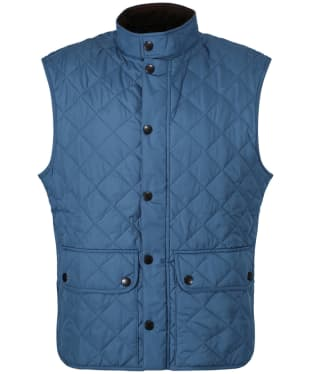 Men's Barbour Lowerdale Gilet - Blue Steel