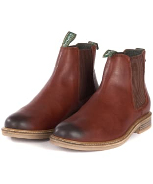 Men's Barbour Farsley Chelsea Boots - Chestnut