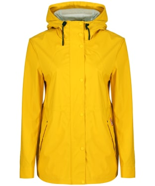 Women's Hunter Original Lightweight Rubberised Jacket - Yellow