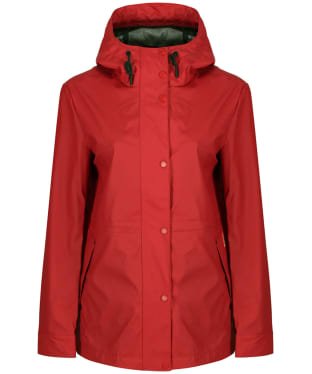 Women's Hunter Original Lightweight Rubberised Jacket - Military Red