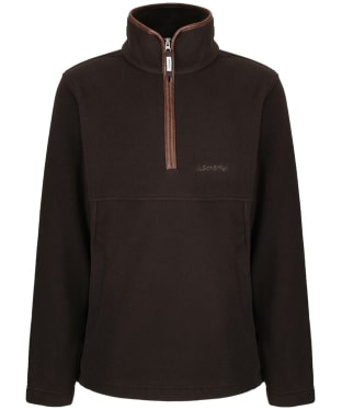 Men's Schoffel Berkeley 1/4 Zip Fleece - Mocha