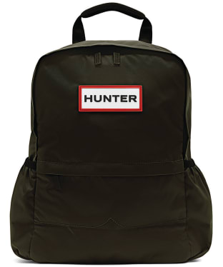 Hunter Original Small Nylon Backpack - Dark Olive