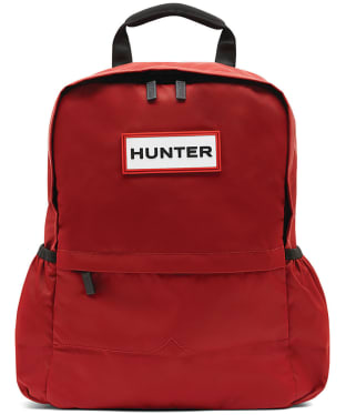 Hunter Original Small Nylon Backpack - Military Red