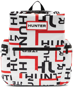 Hunter Original Exploded Logo Top Clip Backpack - Exploded Logo