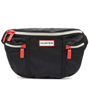 Hunter Original Nylon Bum Bag - Black