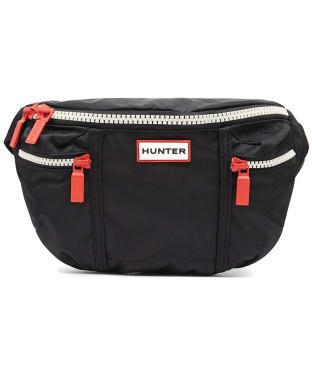 Hunter Original Nylon Bum Bag - Black
