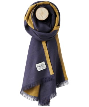 Women's Joules Luxton Scarf - French Navy