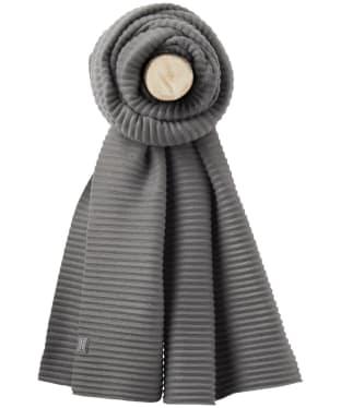 Women's Joules Pemberton Crinkle Scarf - Dark Grey