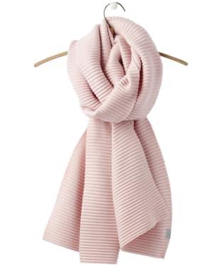 Women's Joules Pemberton Crinkle Scarf - Cool Pink