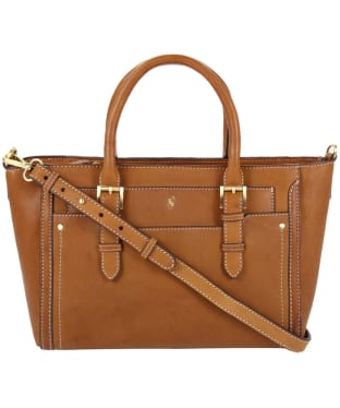 Women's Joules Hathaway Mini Leather Handbag - Tan