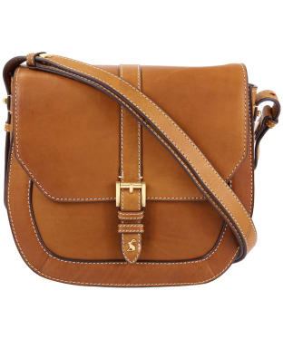 Women's Joules Leather Saddle Bag