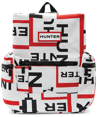Hunter Original Exploded Logo Top Clip Mini Backpack - Exploded Logo