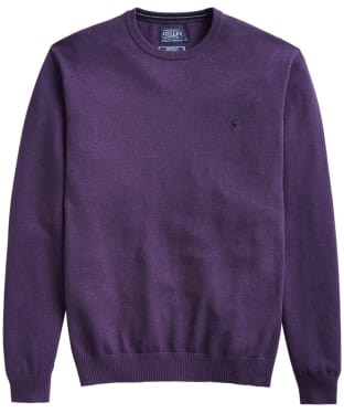 Men's Joules Jarvis Crew Neck Sweater - Purple Marl