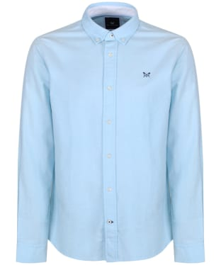 Men's Crew Clothing Oxford Slim Shirt - Blue Topaz