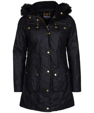 Women's Barbour International Slipstream Waxed Parka