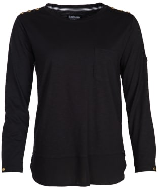 Women's Barbour International Imatra Top - Black