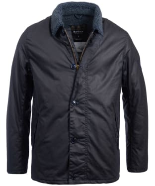 Men's Barbour Steve McQueen Havasu Wax Jacket - Navy