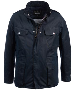 Men's Barbour Steve McQueen Tuscon Waxed Jacket - Navy