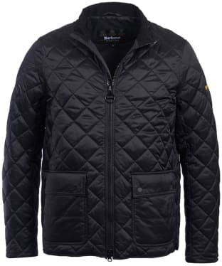 Men's Barbour International Frame Quilted Jacket - Black