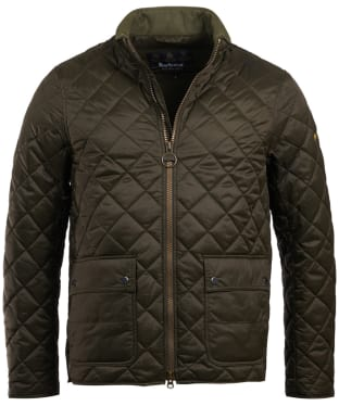 Men's Barbour International Frame Quilted Jacket - Olive
