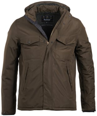 Men's Barbour International Ratio Waterproof Jacket - Olive