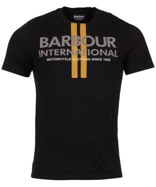 Men's Barbour International Locking Tee - Black