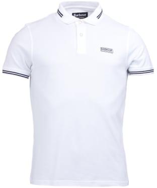 Men's Barbour International Essential Tipped Polo Shirt