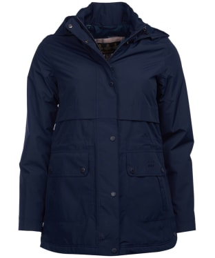 Women's Barbour Altair Waterproof Jacket - Navy