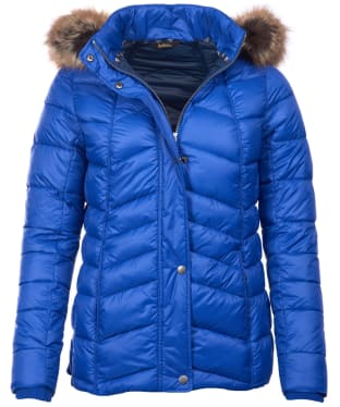 Women's Barbour Bernera Quilted Jacket - Sea Blue