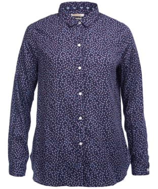 Women's Barbour Seahouse Shirt - Navy Print