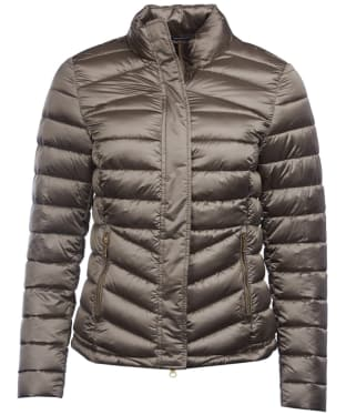 Women's Barbour Vartersay Quilted Jacket - Mink