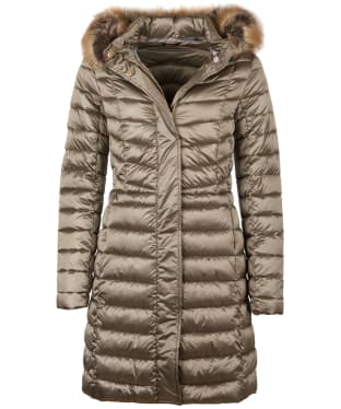 Women's Barbour Bernerary Quilted Jacket - Mink