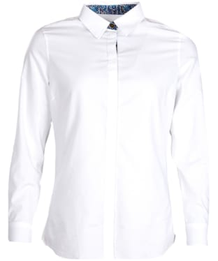 Women's Barbour Victoria Shirt - White