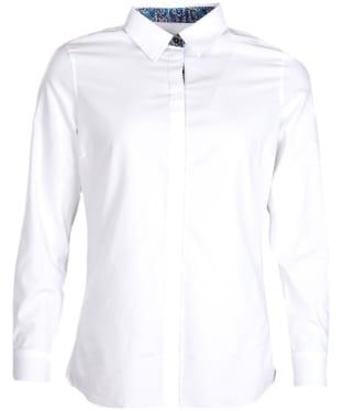 Women's Barbour Victoria Shirt - White