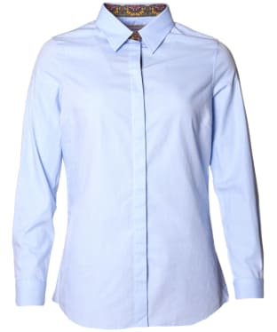 Women's Barbour Victoria Shirt - Pale Blue