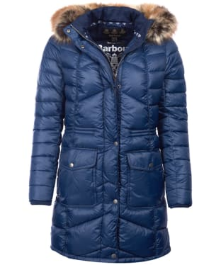 Women's Barbour Hamble Quilted Jacket - Navy