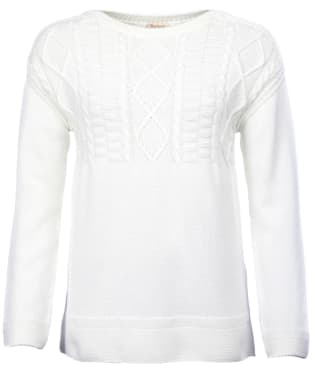 Women's Barbour Weymouth Knitted Sweater - Off White