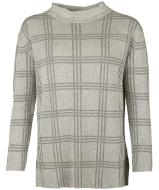 Women's Barbour Annis Knitted Sweater - Light Grey Marl